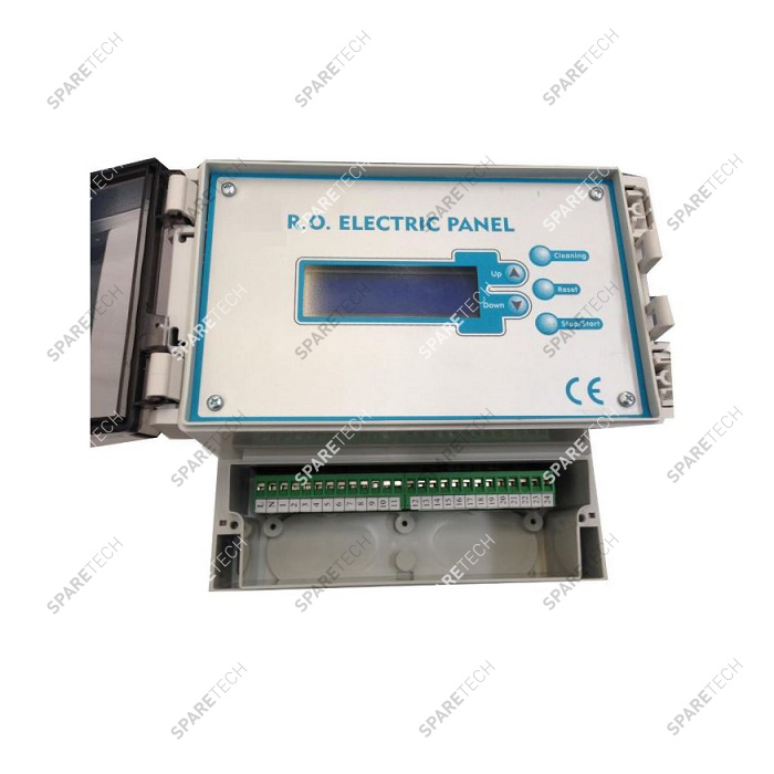 Control box with display for osmosis system, 220V + 1 sensor