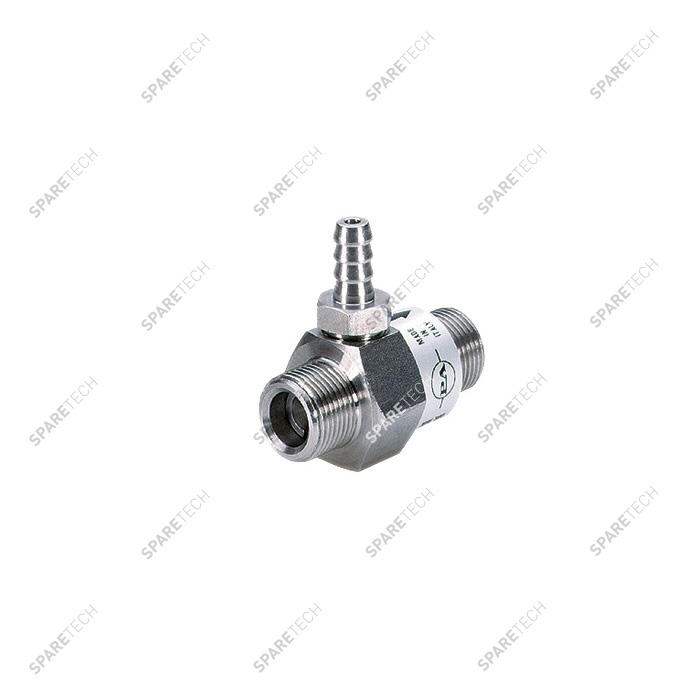 "Stainless steel injector MM3/8""  1.5mm, P.A."