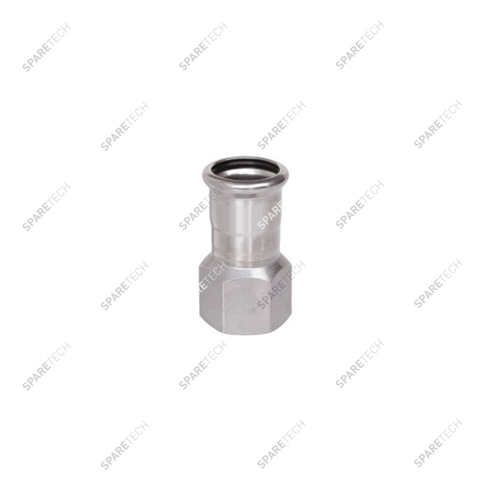 Adaptor D35 to press and 1 thread end F1""