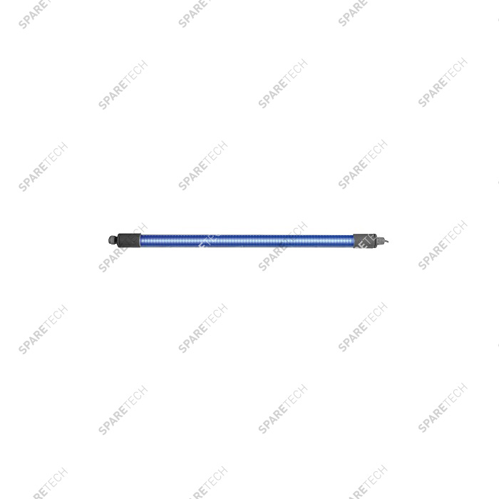 Blue waterproof 60 cm LED tube, 2 connectors, 220V