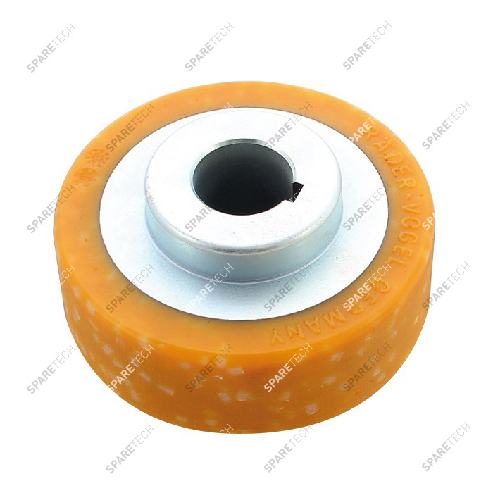 Siding wheel WT1017 for carriage side brush