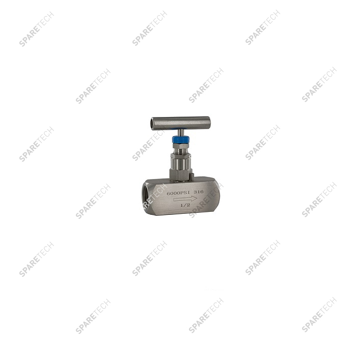 Stainless steel needel valve FF1/2''