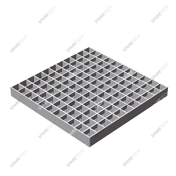 Galvanized grating 1330x1000mm, mesh 30x30mm
