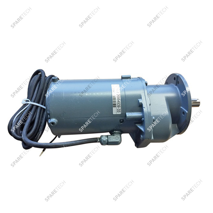 Gearmotor for wheel washer 0.18kW 400V