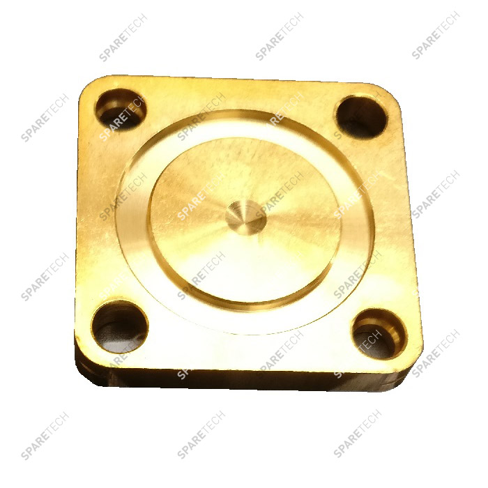 Manifold closure plate for 287 solenoid valve