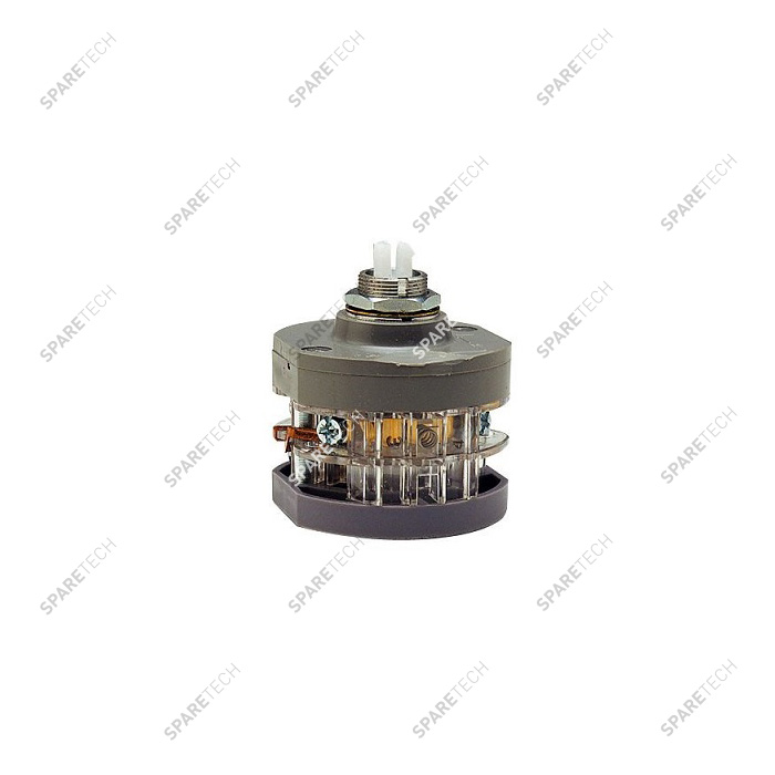Rotary switch 3-4 positions D50 mm H. 60 mm
