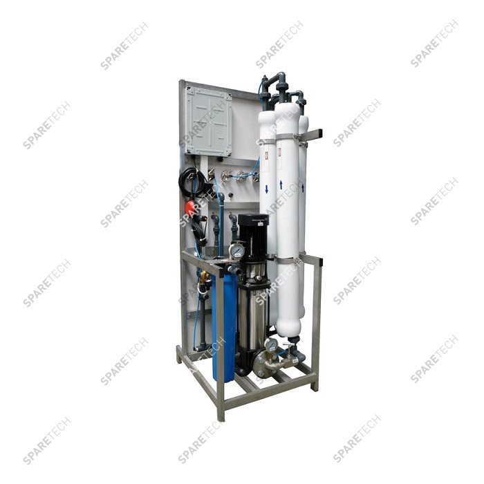 Reverse osmosis unit ALPHA 600L/h. with three 4040 MEMBRANES, 380V