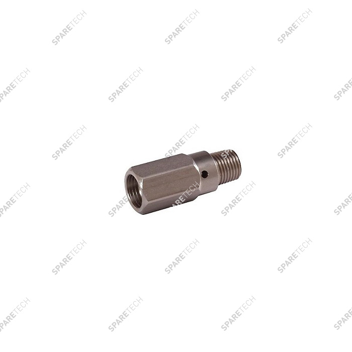 Stainless steel injector for foam brush lances D2.5mm MF1/4""