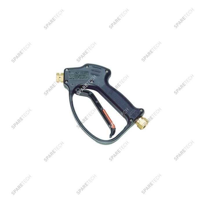 "RL26 spray gun 30L/min with swivel, in F3/8"" out F1/4"""