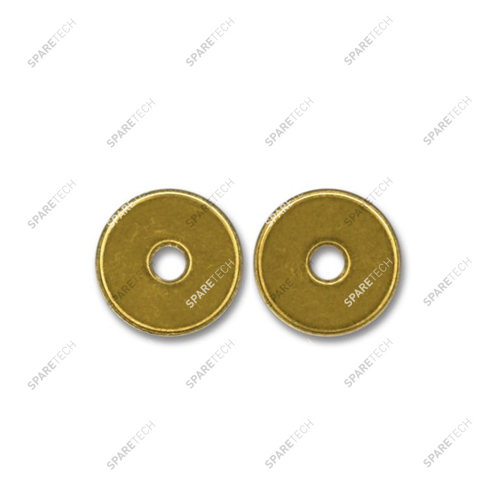 Brass token 26x2.3mm with D6mm hole
