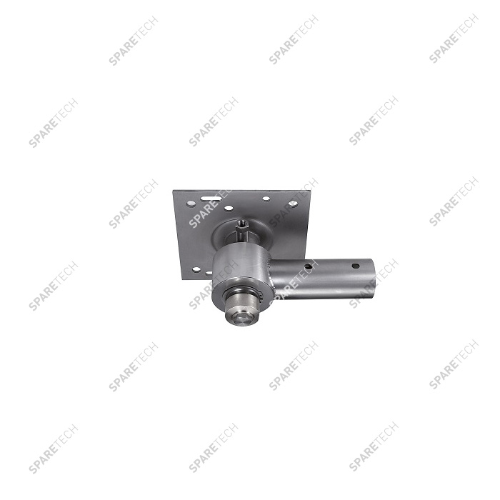 Stainless steel 360° ceiling boom bracket for Tecomec boom