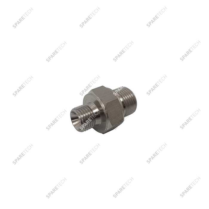 "Pipe reducer G3/8""M G1/4""M stainless steel"