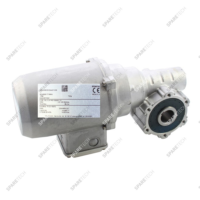 Gearmotor WT1007, brush drive for top and side brushes