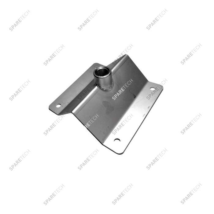 Stainless steel ceiling holder for wheel cleaner hose FF1/4''