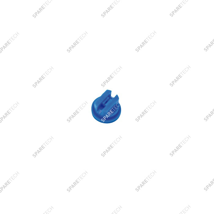 Blue plastic flat nozzle 80 030 for wheel cleaner