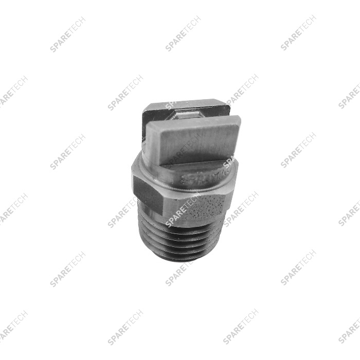 "Stainless steel nozzle M1/4"" 11001 for wheel cleaner"