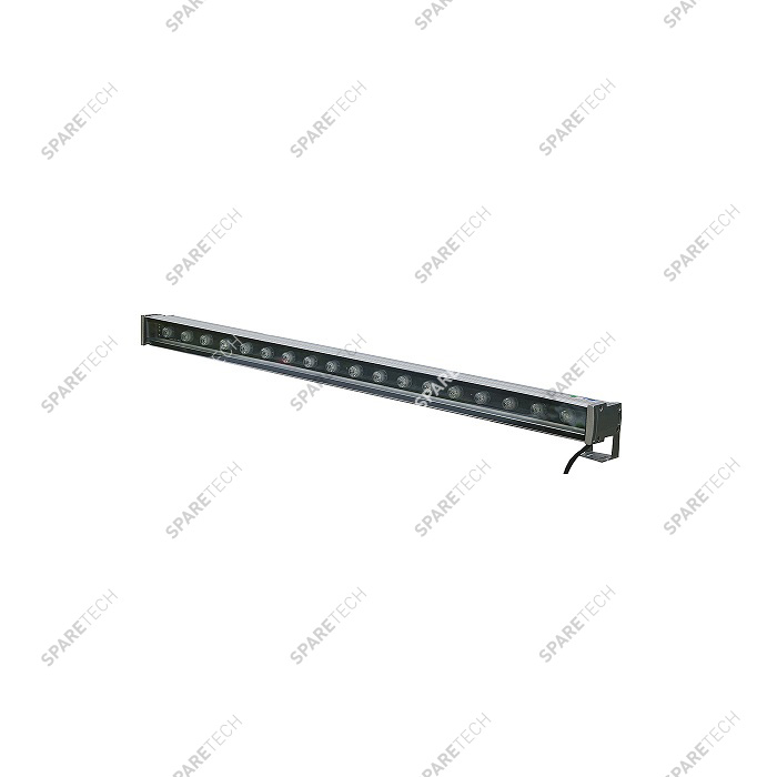 RGB light bar IP68 18W, 24VAC + 3m cable input, 0.3m cable output