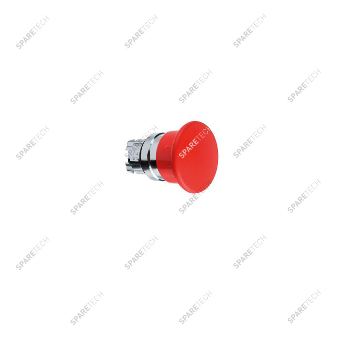 Mushroom head red for emergency switch D22mm