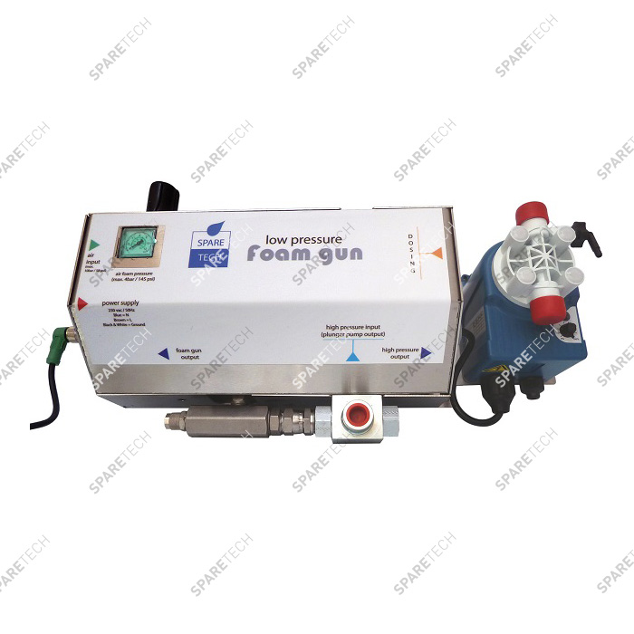 Low pressure foam unit with INVIKTA DOSING pump 0401031 EPDM