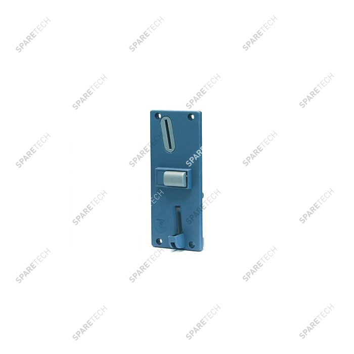 Front plate for coin acceptor standard model F6 blue