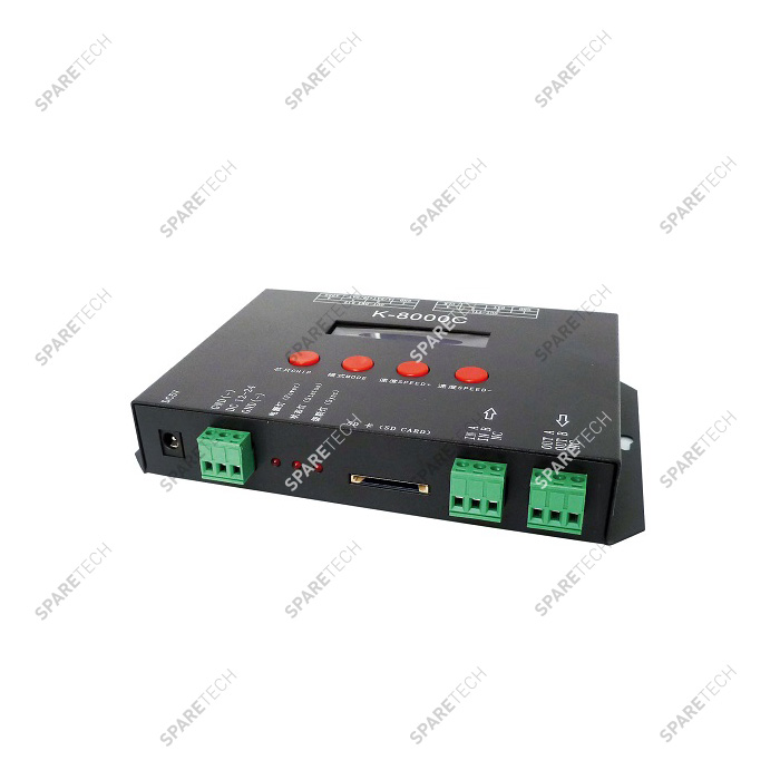 DMX controller 8 outputs 15 meter per output 24VDC