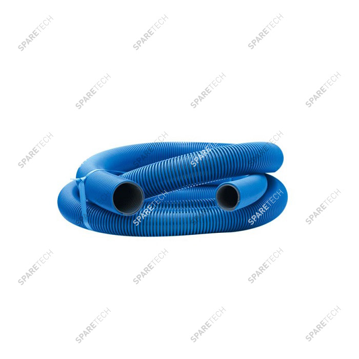 Blue conic hose D.38/51mm, 5m, smooth interior