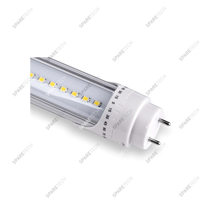 LED tube light cold white 60cm 9W,  220V,  6500K
