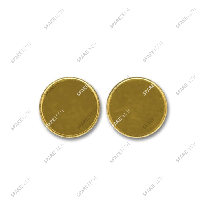Brass plain token 17,5x2,3mm (per 100 units)