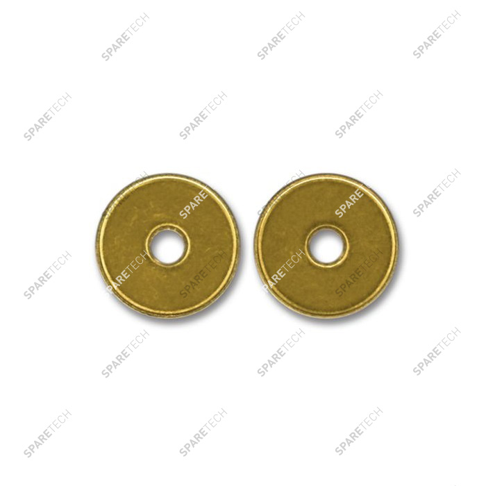 Brass token with hole 22,5X1,8mm (per 100)