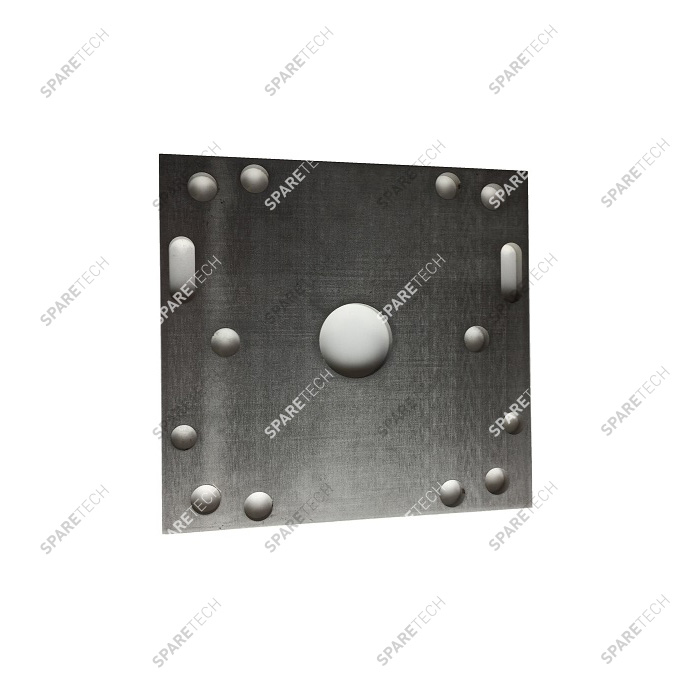 Stainless steel counterplate (150x150mm) for ceiling booms