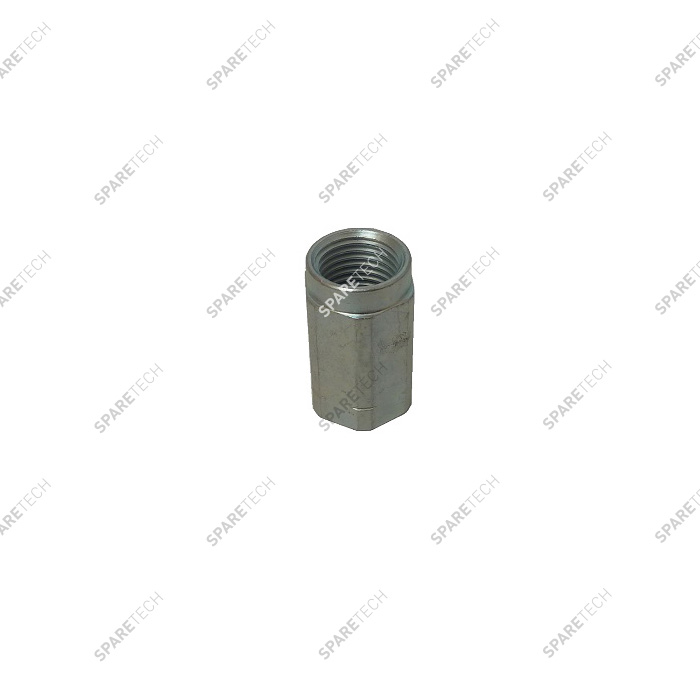 Nut for nozzle, galvanised