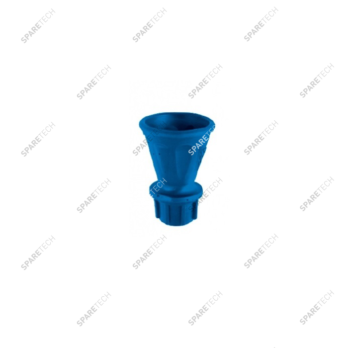 "Blue nozzle protector and nozzle holder F1/4"" for lance 0801496"