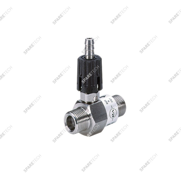 "Ajustable injector MM3/8"", nominal diameter 2.1mm, P.A."