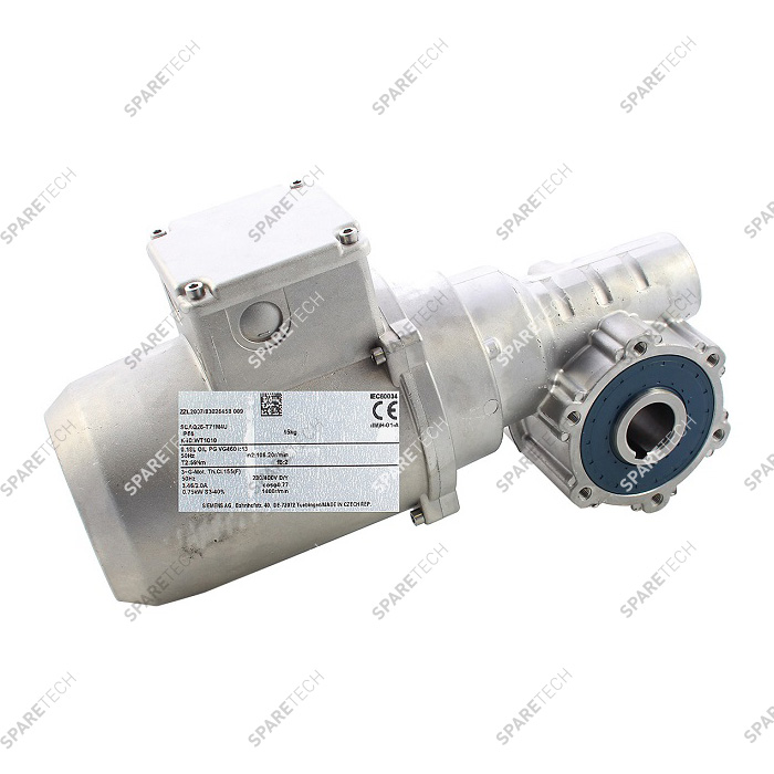 Gearmotor WT1010, brush drive for top and side brushes