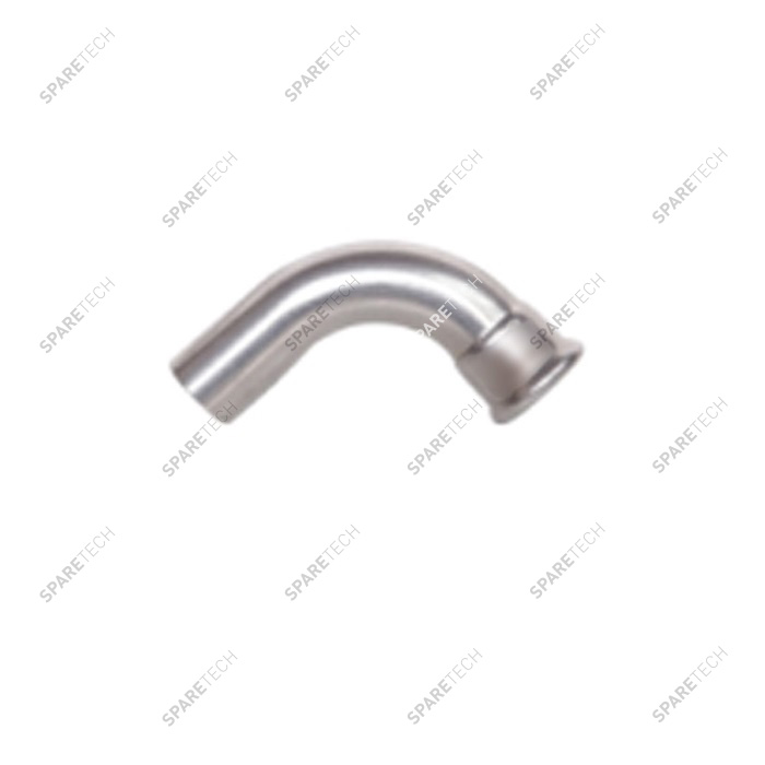 Elbow 90° D28 with one plain end