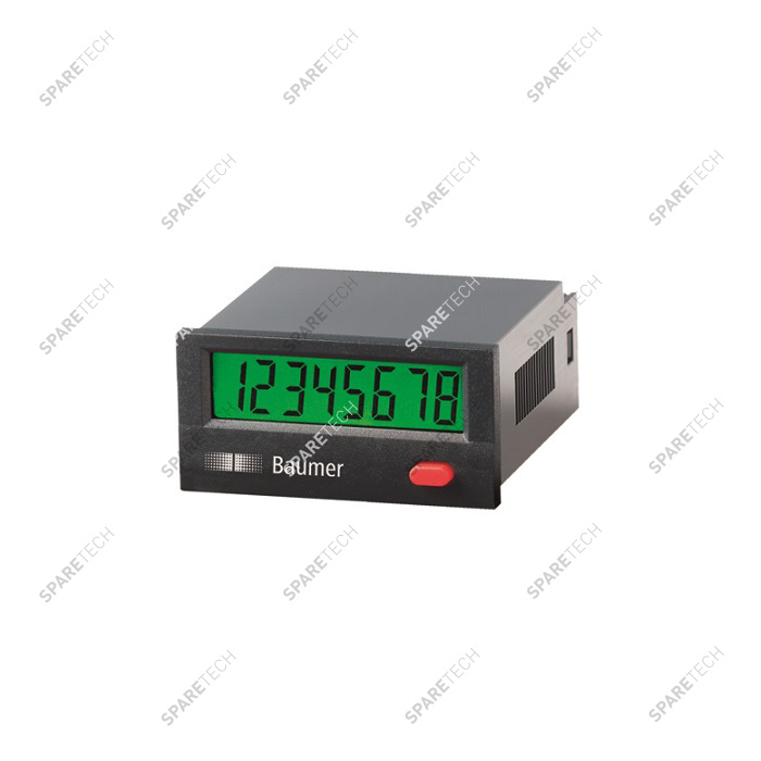 Electronical pulse counter with digital display from 12 to 220V