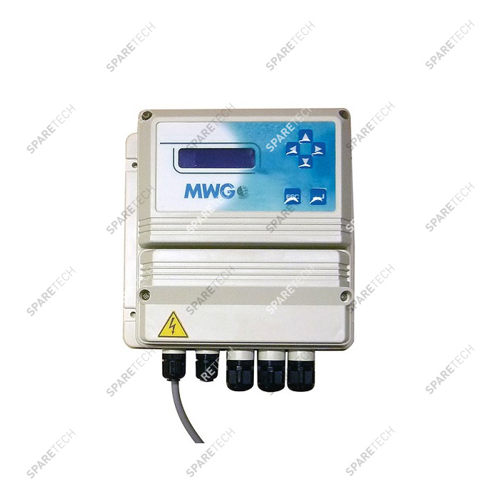 Control unit for osmosis system,  220V, with display and 2 sensors