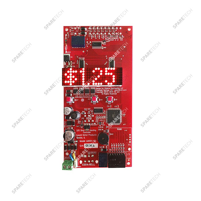 Electronic board with scrolling display 24VAC