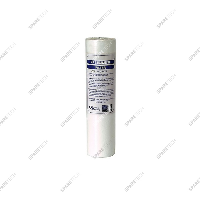 Meltblown filter cartridge  9''3/4, 5 microns