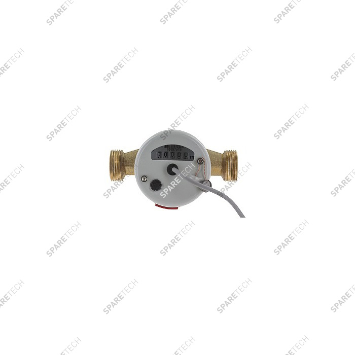 Water meter for hot water MM 1'',  0.25L/pulse 2,5 m3