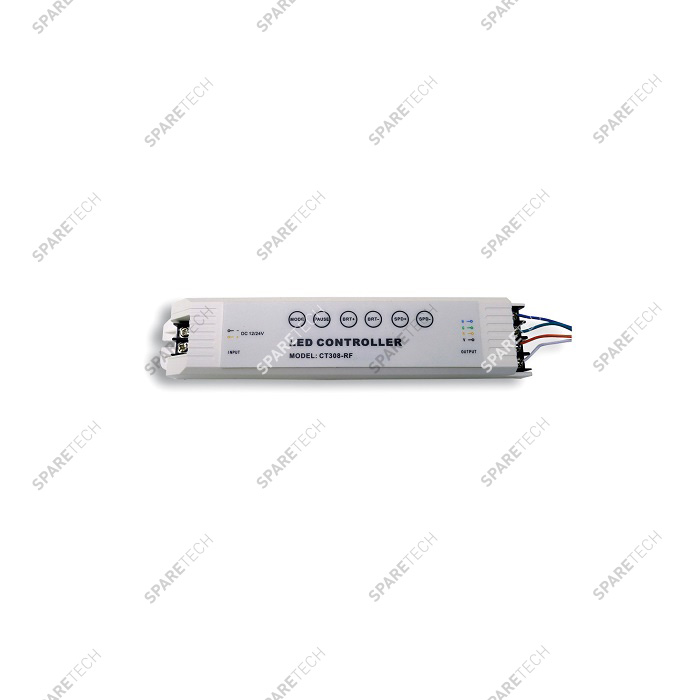 Controller for 3 LED multi-color module 12/24VDC