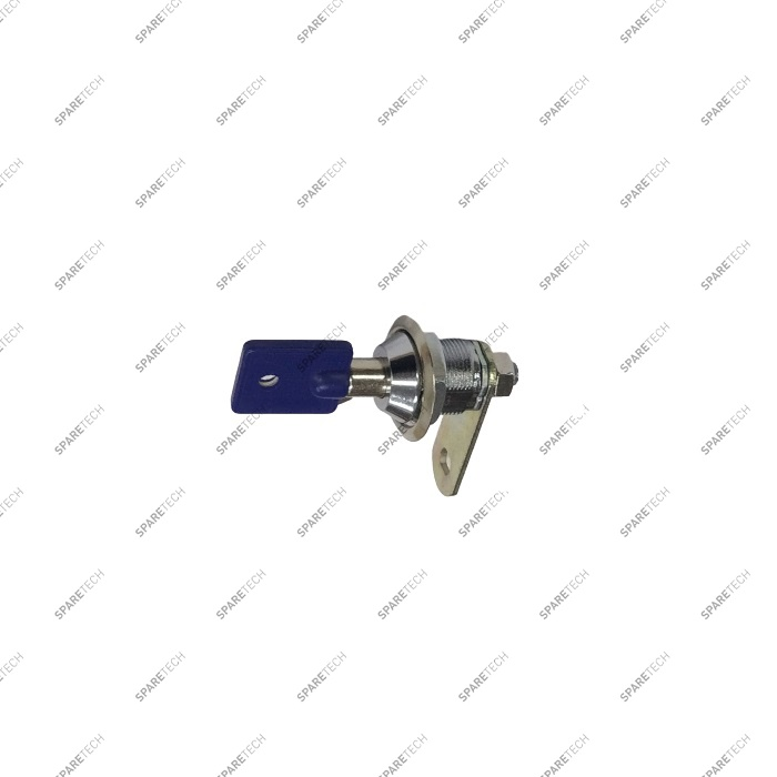 Lock and key for coin acceptor door TEMPEST/F9