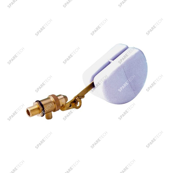 Float valve M3/8'' for hot water 60°C max