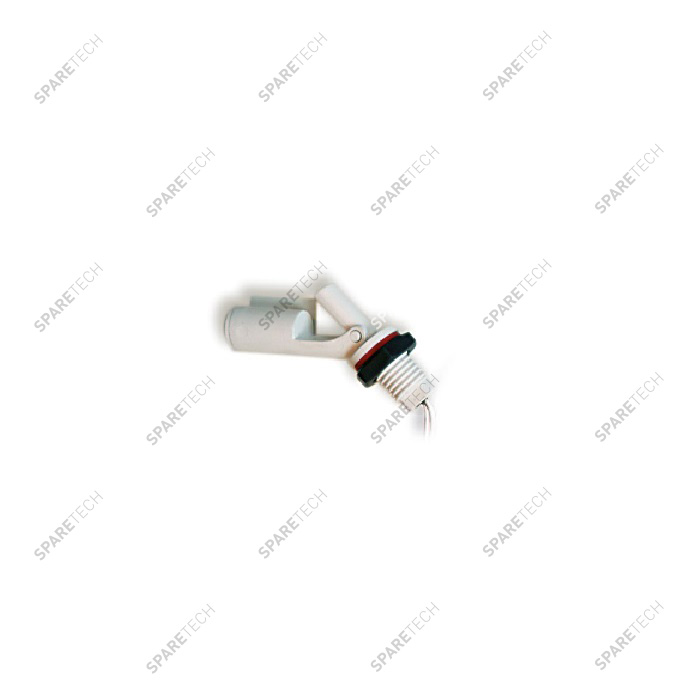 Contact float switch 50V max, 10 to 80°C, 2m wire