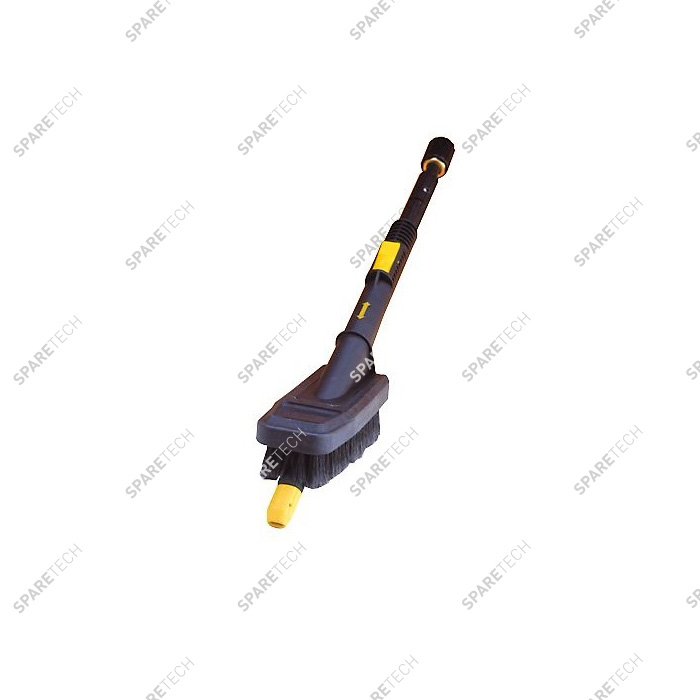 Retractable lance with longitudinal brush M1/4''