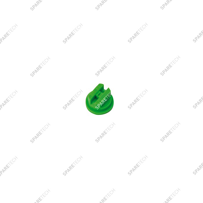 Green plastic flat nozzle 80 015 for wheel cleaner