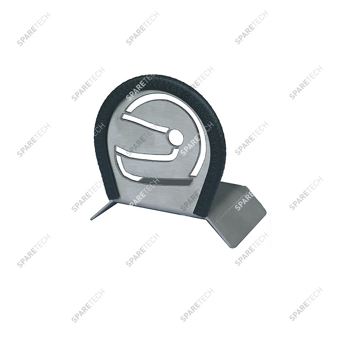 Stainless steel helmet holder