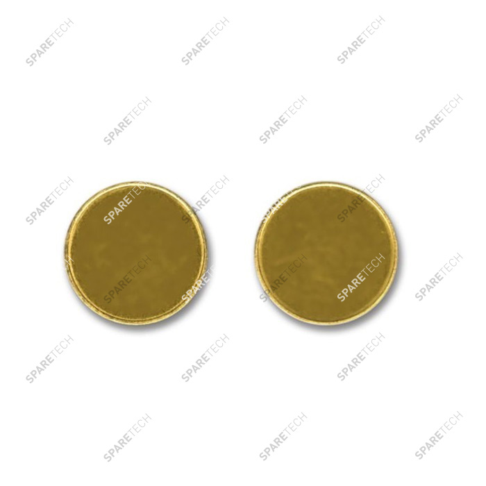 Brass token 24 X 2.3mm (per 100)