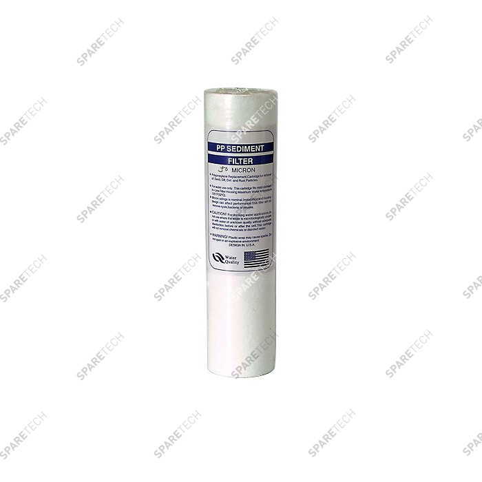 Meltblown filter cartridge  9''3/4 20 microns