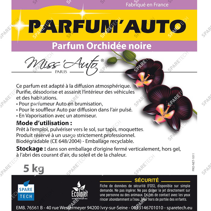 Car perfume Black Orchid, 5kg